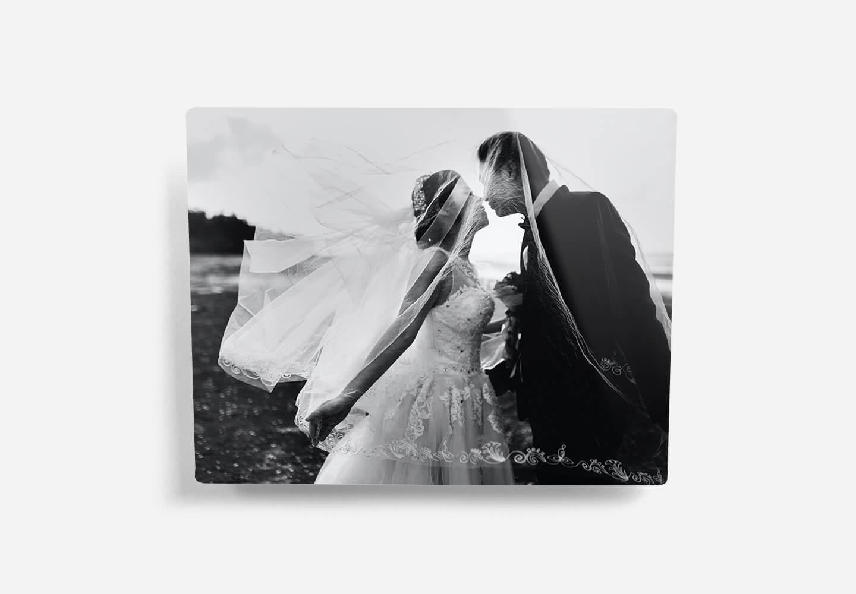 Photos imprimées sur aluminium rigide
