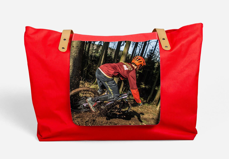 sac rouge tout usage
