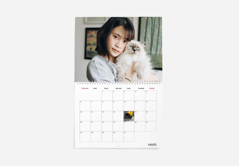calendrier classique