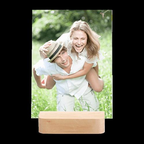 Calendrier socle de bois