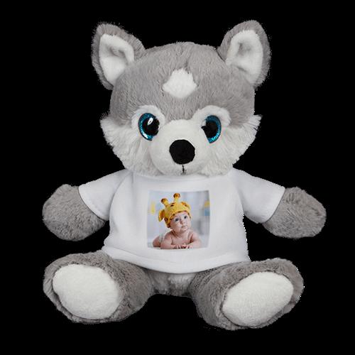 Stuffed Husky Teddy