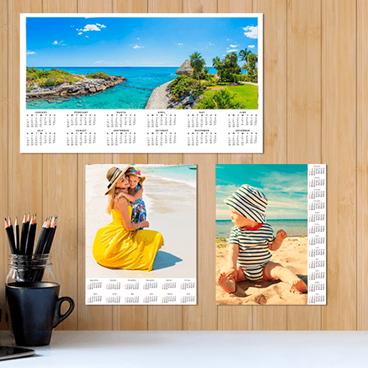 Poster-Size Calendar