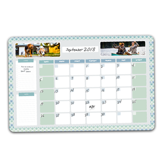 Desk Pad Monthly Planner