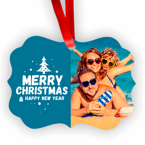Benelux Shaped Christmas Ornament