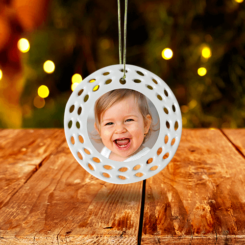 Perforated Ornament
