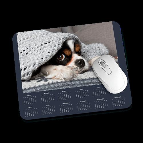 Tapis de souris calendrier