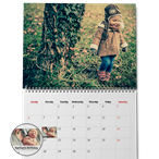 Enviro Matte Calendar made from 100% recycled paper