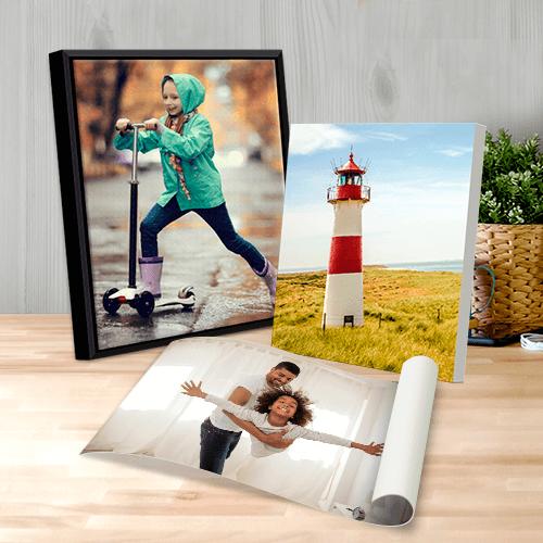 Photos sur toile et canvas