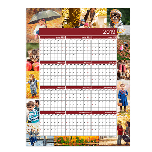 Calendrier planification