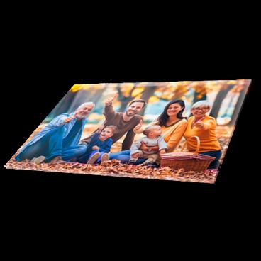 Impression acrylique (photo sous plexiglass)