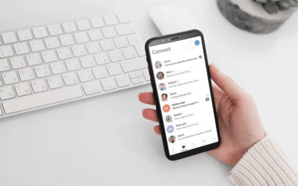 LEX Reception answering service mobile app