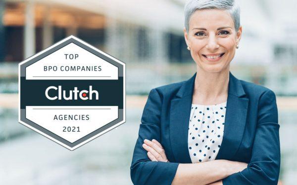 clutch leading BPO company award