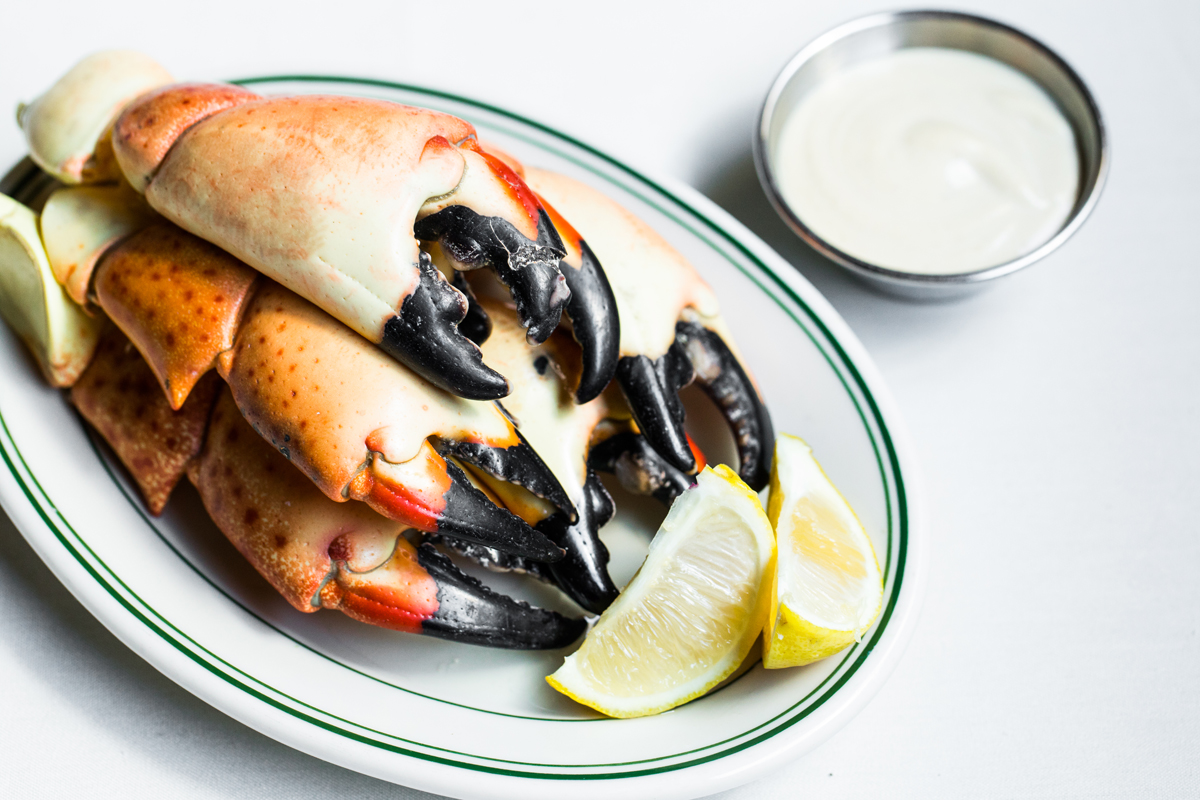 Plate of Crab Claws