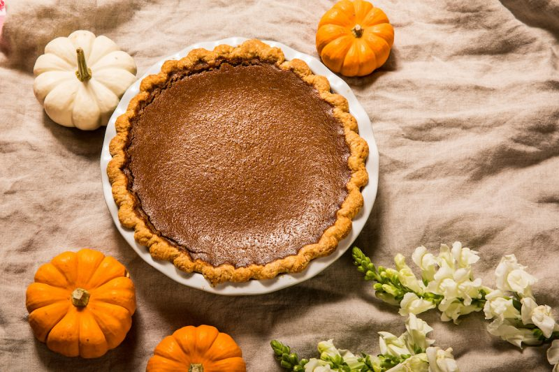 Pumpkin Pie from Shaw's Crab House