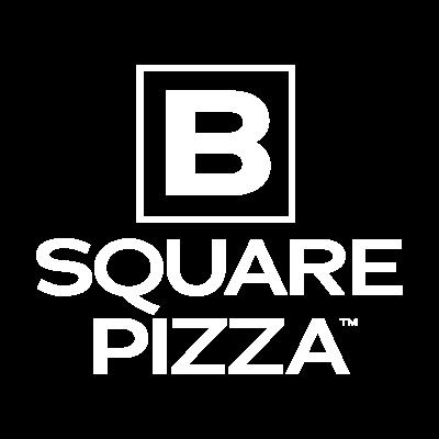 B Square Pizza Logo