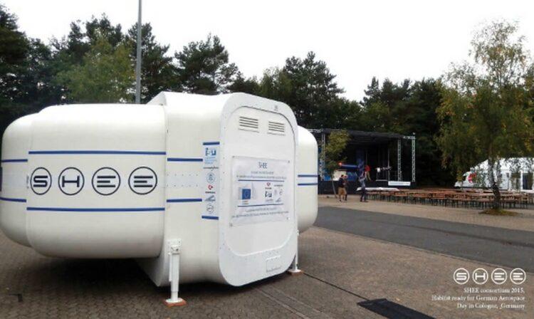 Le SHEE: le futur logement autonome des astronautes