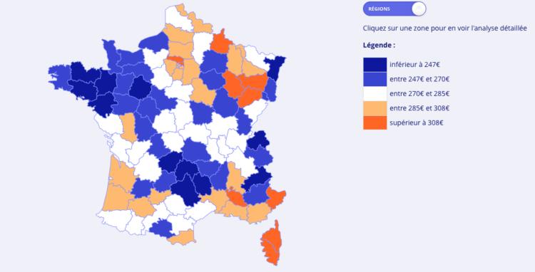 Combien coûte l'assurance habitation en France ?