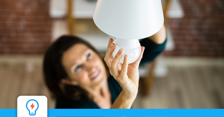Quelle est la consommation d'un éclairage à ampoule LED?