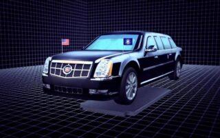 Cadillac One: découvrez en vidéo la voiture blindée du président américain Donald Trump