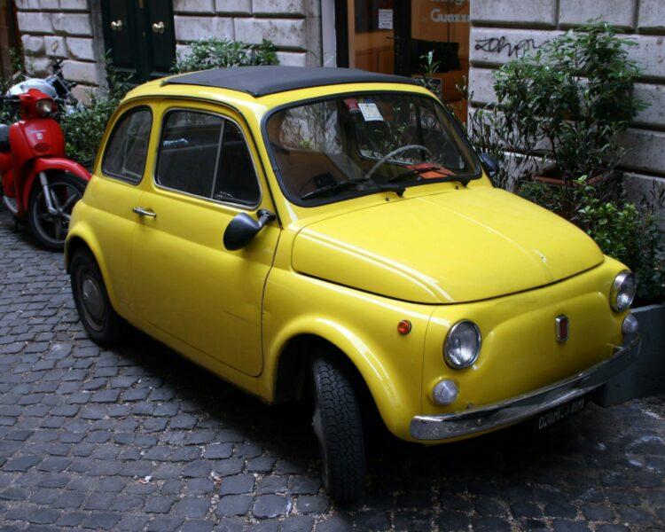 La Fiat 500 est la voiture de collection la plus prisée des Français