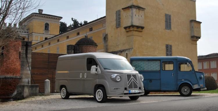 Citroën: un kit pour transformer le Jumper en mythique Type H