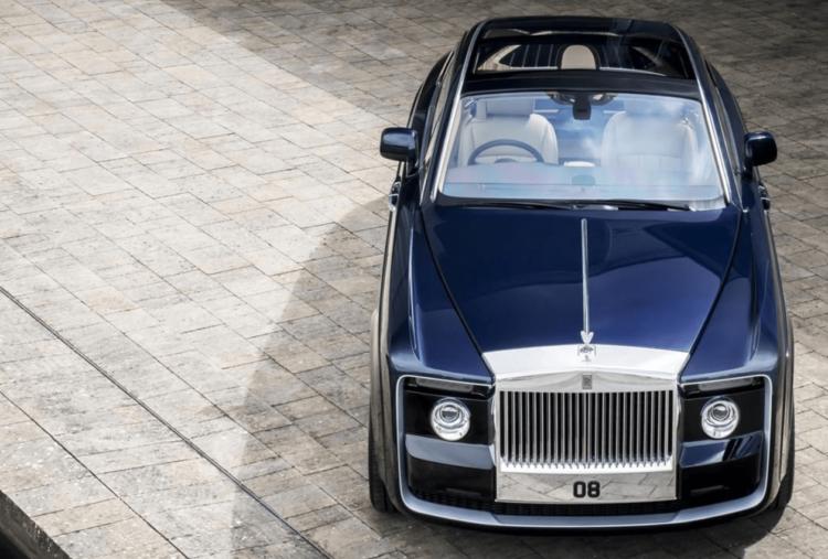 Rolls Royce Sweptail: une voiture unique à 11,4 millions d'euros