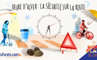 Heure d'hiver: La Sécurité routière rappelle les règles de bonne conduite