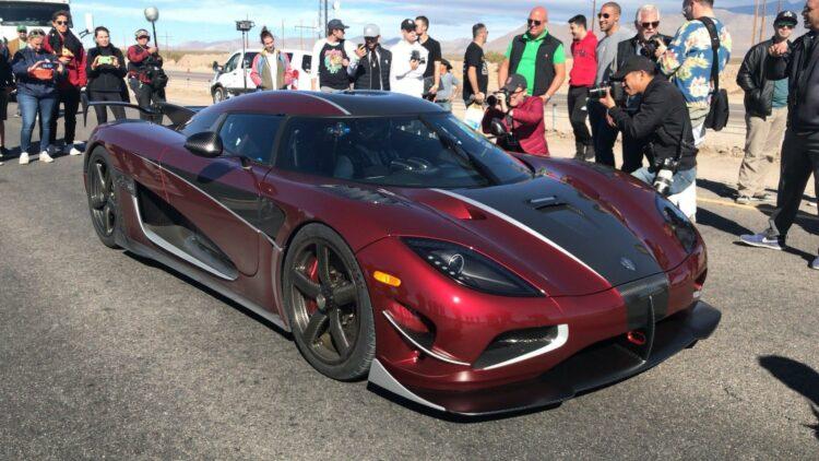 Koenigsegg Agera RS: la voiture la plus rapide du monde roule à 447 km/h
