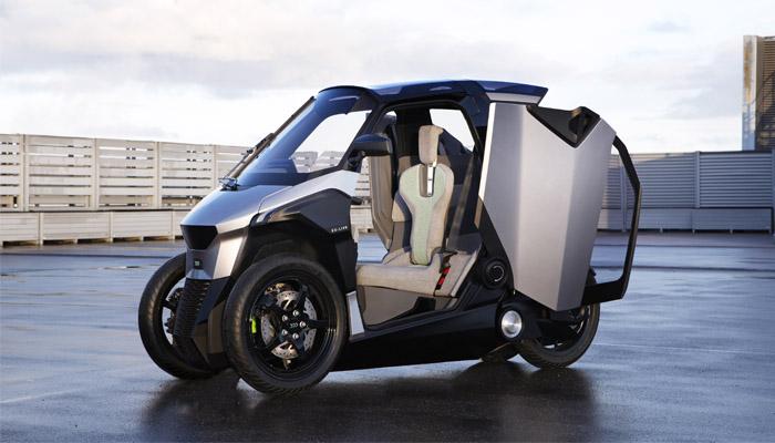 Peugeot lance EU-Live, un quadricycle hybride (photos)