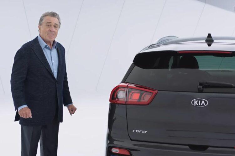 Kia se paie Robert De Niro pour la publicité de son SUV électrique e-Niro