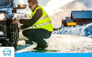 Hiver, chaînes à neige et assurance auto