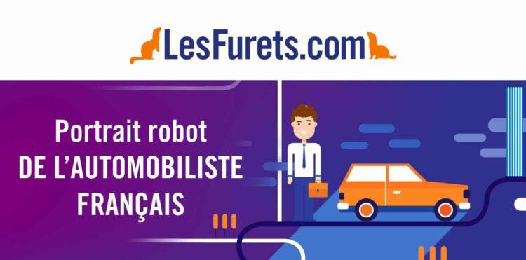 LesFurets.com dévoile le portrait-robot de l'automobiliste français