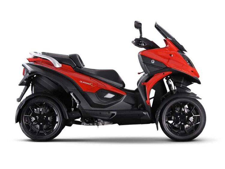 Quadro4, le scooter tricycle à 4 roues