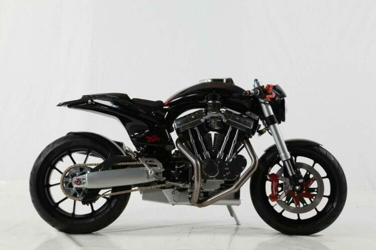 Avinton, une moto haute couture «Made in France »