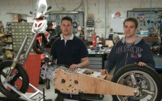 Insolite: des étudiants veulent construire la moto la plus rapide du monde