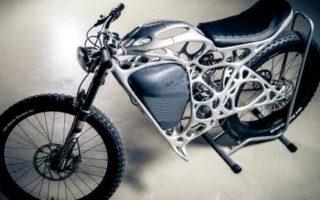 Airbus imprime sa première moto 3D