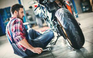 Deux-roues: une moto personnalisée par les salariés de la Mutuelle des Motards
