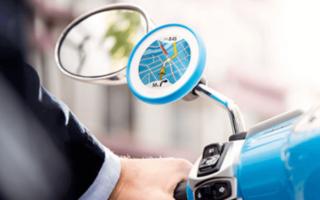 TomTom présente VIO, un GPS spécialement conçu pour les scooters