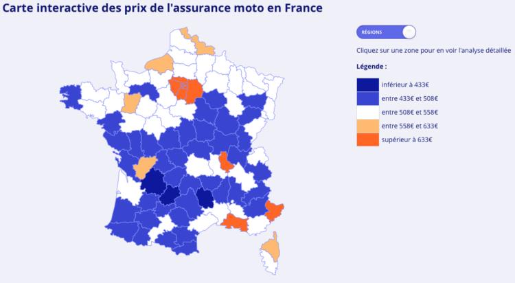 Combien coûte une assurance deux-roues en France?