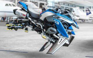 BMW Lego Hover Ride: un prototype de moto volante construire en Lego
