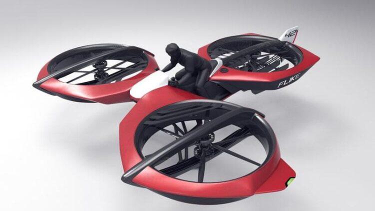 Salon du Bourget: Bientôt une moto volante?