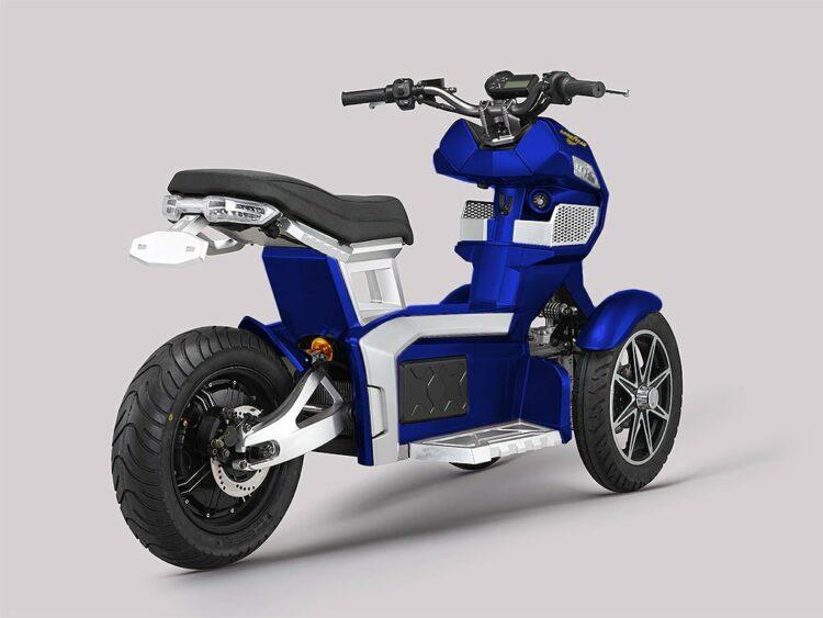 Goodyear Ego 2: un scooter électrique original à trois roues