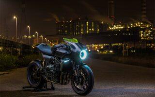 Honda: une moto avec une hélice dans le phare