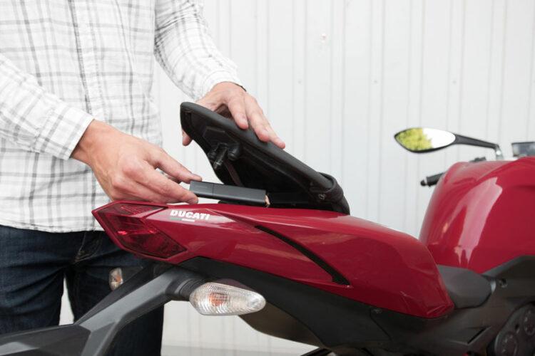 Roadie: le traceur GPS qui localise votre moto