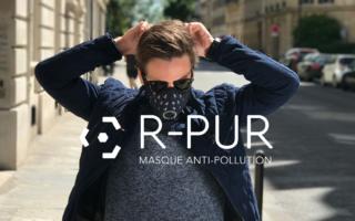 R-PUR: un masque antipollution connecté pour deux-roues
