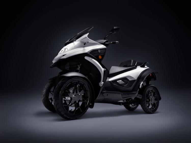 Quadra Qooder: le scooter à 4 roues devient électrique en 2019