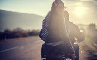 Balades à moto, les zones les plus accidentogènes au printemps