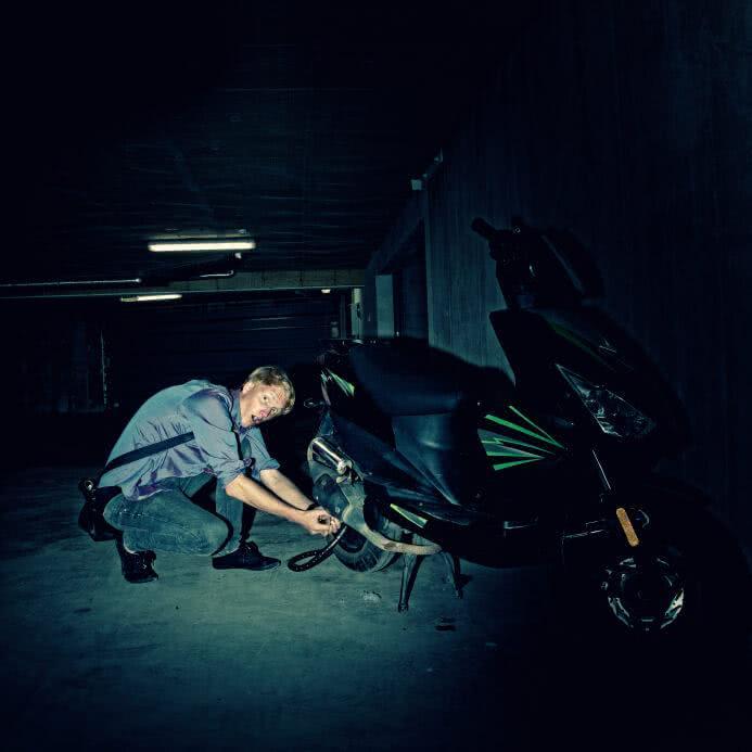 Les astuces pour éviter de se faire voler son scooter