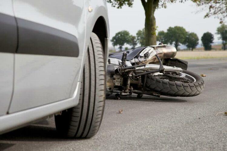 Moto: accident avec un tiers non identifié