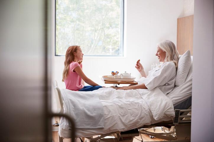 Prendre une chambre particulière à l'hôpital